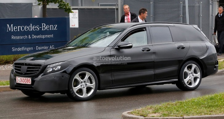 S205 C-Class Estate Spied in Sindelfingen [Photo Gallery]