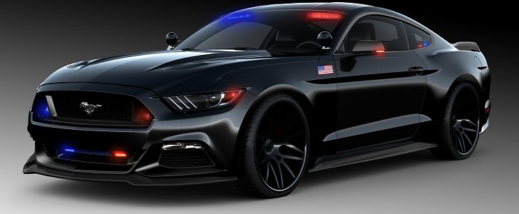 s550 mustang police car from steeda is ready to protect and serve autoevolution