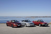 Saab celebrates 25 years of open-top models