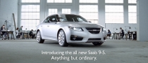 Saab Introduces 9-5 to British Customers