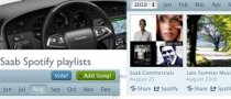 Saab Launches Spotify on Facebook
