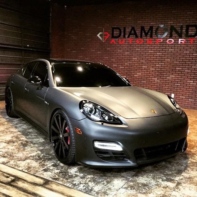 Sacramento Kings Center Demarcus Cousins Gets His Porsche Panamera Customized