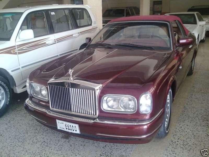 Saddam Hussein's Rolls Royce Corniche Convertible on Ebay ...