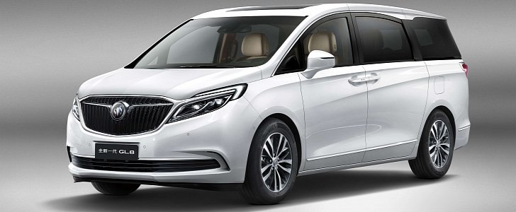 SAIC General Motors Unveils 2017 Buick GL8 Minivan in ...