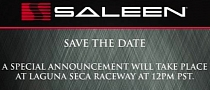 Saleen to Unveil New Model at Monterey Motorsports Reunion