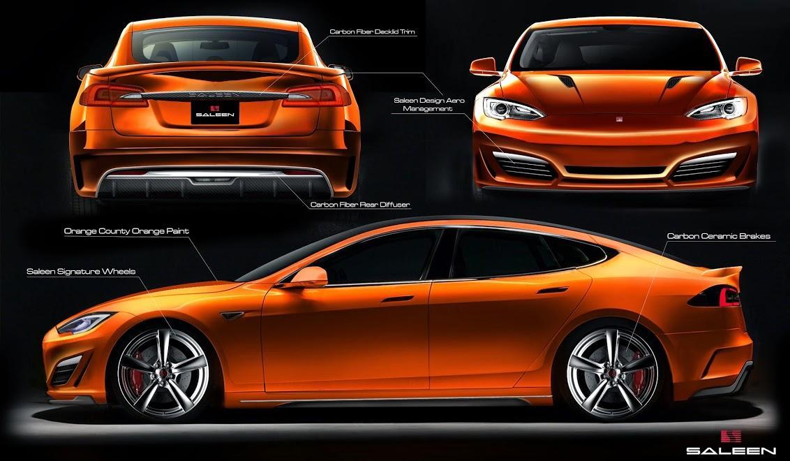 Saleen-Tuned Tesla Model S Coming Summer 2014 - autoevolution