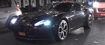 Samuel Eto'o Spotted Driving Aston Martin V12 Zagato [Video]