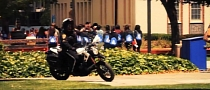 San Jose State University Police Rides Zero DS Motorcycles [Video]