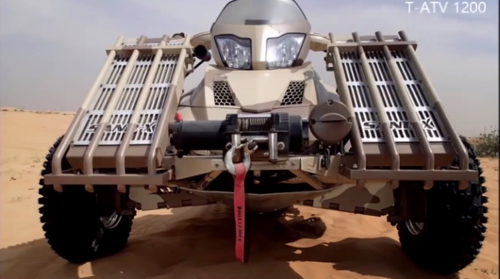 Sand-X T-ATV 1200 All-Terrain Vehicle Is the Ultimate Sand ...