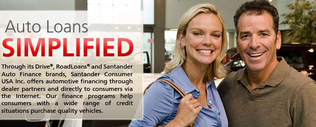 Santander bank offers nonprime loans for chrysler - Santander consumer finance home ...