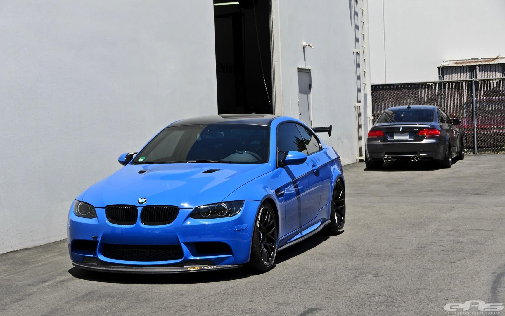 Bmw M Series >> Santorini Blue BMW E92 M3 Gets Serious at EAS - autoevolution