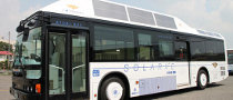 Sanyo Presents Solar Bus