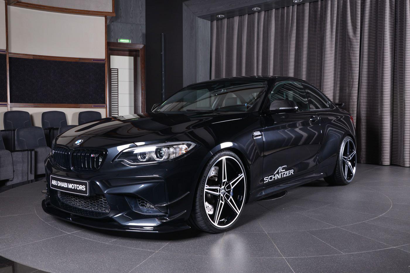 Sapphire Black BMW M Gets AC Schnitzer Kit In Abu Dhabi Autoevolution - Bmw ac schnitzer