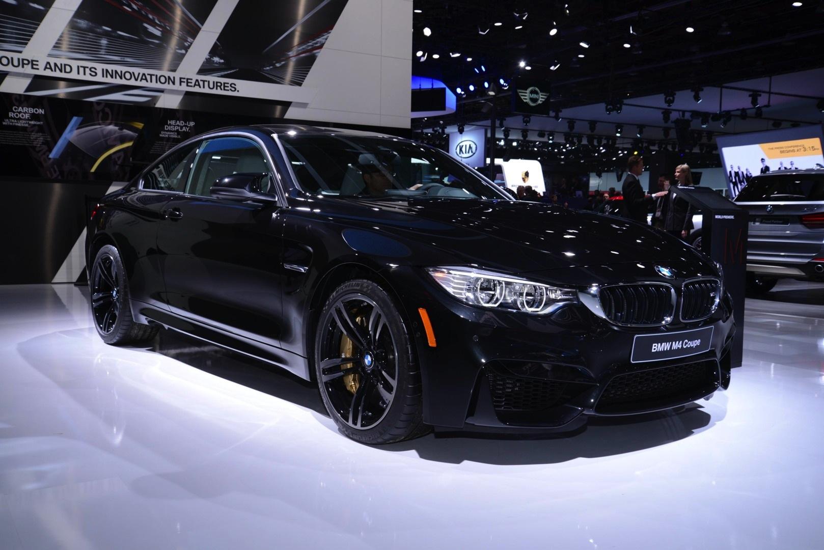 Sapphire Black BMW M Looks Brilliant At NAIAS Live Photos - Black bmw m4