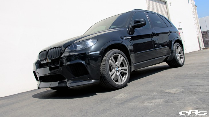 Sapphire Black BMW X5 M Needs Lowering Springs [Photo Gallery]