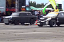 Satan's Trabant Races Frankenstein's Opel Corsa [Video]