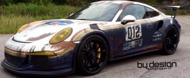 2018 Porsche 911 Gt3 >> Saudi Arabian Porsche 911 GT3 RS Gets Porsche 959 Dakar-Inspired Rothmans Livery - autoevolution
