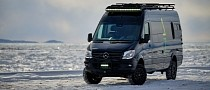 Save Your Winter Holidays with Canadian Norva Moose Mercedes-Benz Sprinter 4x4