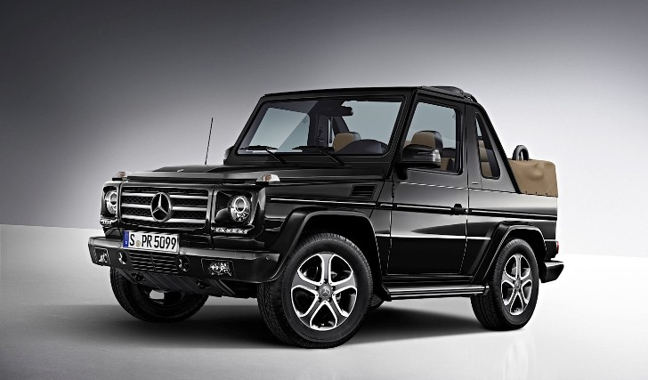Say Goodbye to The G-Class Cabriolet Model [Photo Gallery]