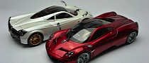 Scale Model of Pagani Huayra: a Piece of Passion [Photo Gallery]
