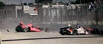 Scary IndyCar Crash Leaves Dario Franchitti, 13 Spectators Injured [Video]