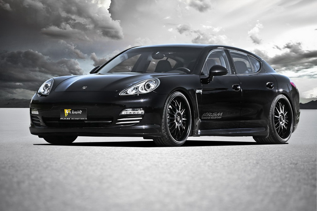 schmidt revolution touches the porsche panamera 4s. Black Bedroom Furniture Sets. Home Design Ideas