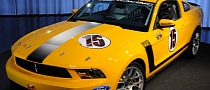 'School Bus Yellow' 2012 Mustang Boss 302 Up for Auction