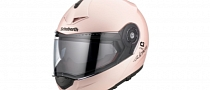Schuberth Shows Pearl Pink C3 PRO Women Helmet