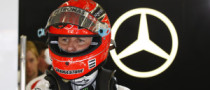 Schumacher Confirms Tire Issues for Mercedes