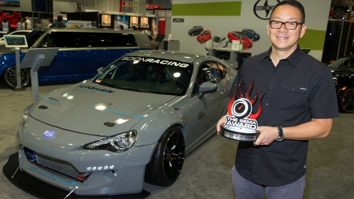 Scion FR-S Gets 2013 SEMA Award