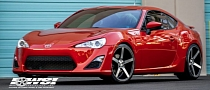 Scion FR-S Riding on Vossen CV3 Wheels [Photo Gallery]