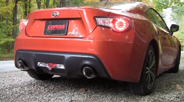 Scion FR-S Sounds Much Better With Corsa Exhaust [Video]