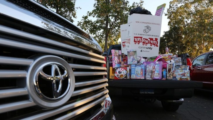 Scion Owners Donating Toys for Needy Kids