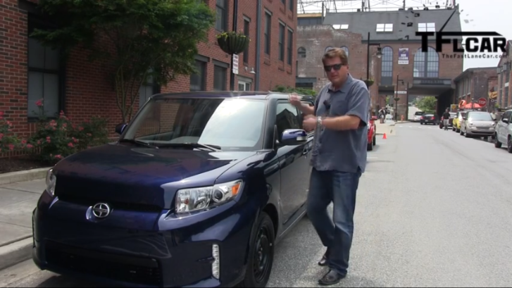 Scion xB Put Against Its Rivals by TFL Car [Video]