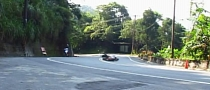 Scooter Crashes Hard, Riders Walk Away, But... [Video]