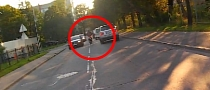 Scooter Splits Lanes, Driver Turns, Crash Follows [Video]