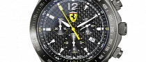 Scuderia Ferrari Carbon Chrono Watch Up for Sale