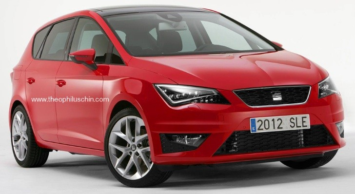 SEAT Altea Gets a Leon Face