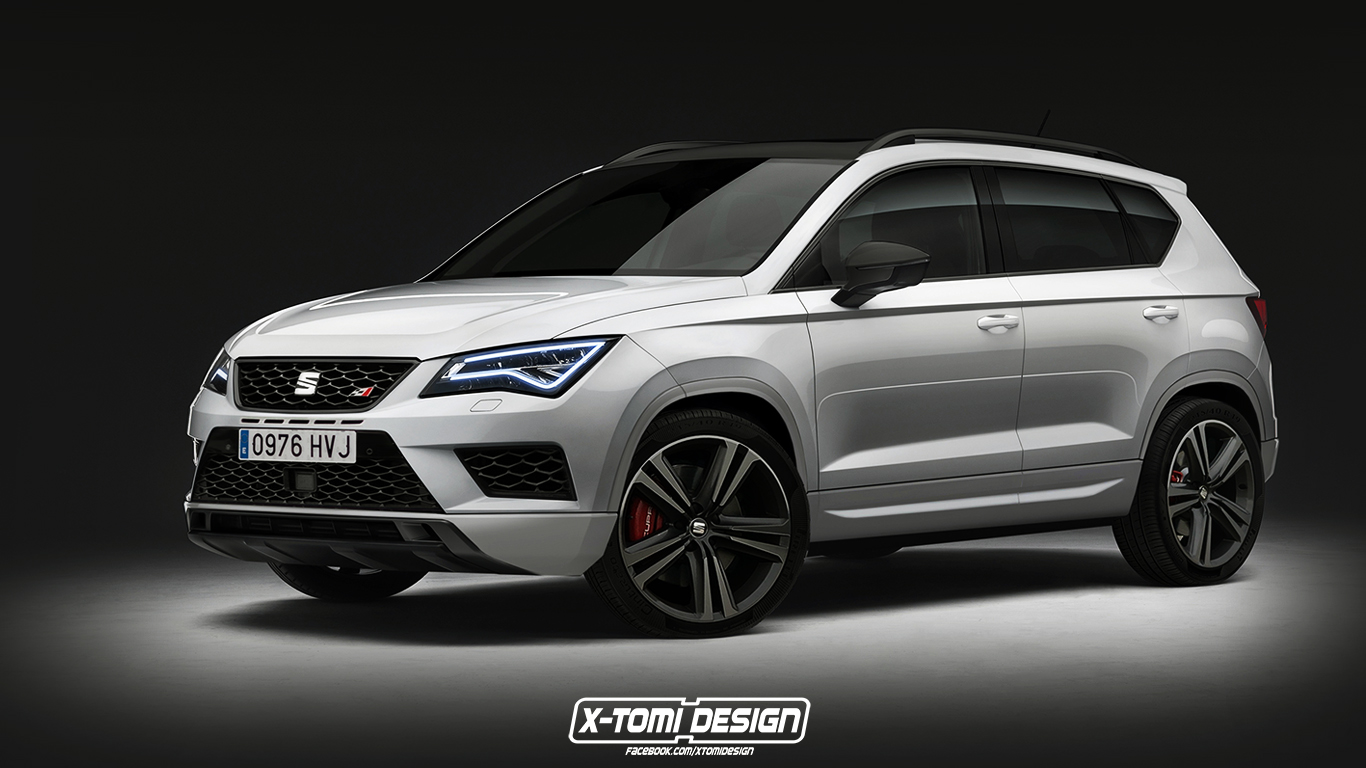 seat ateca cupra might look like this and is currently under consideration autoevolution. Black Bedroom Furniture Sets. Home Design Ideas