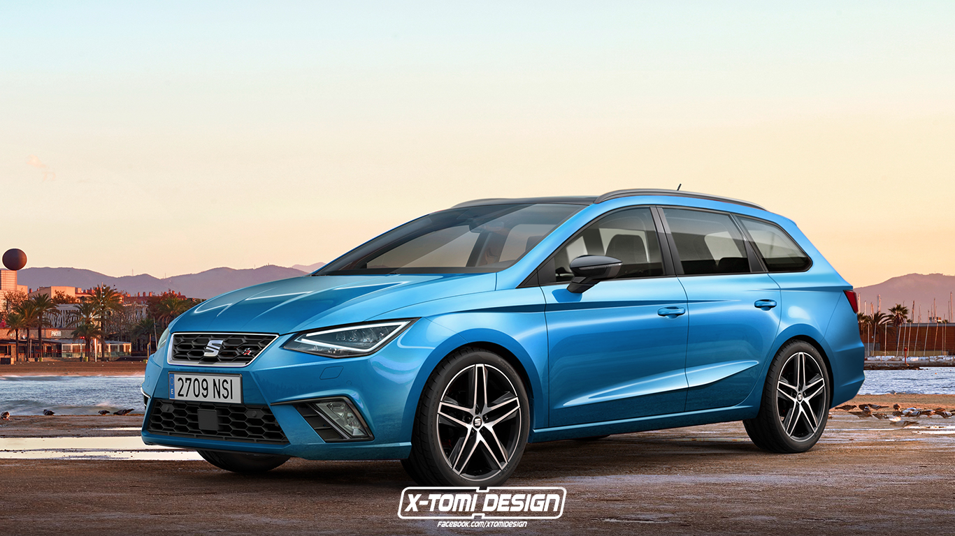 seat ibiza st and sc renderings are joined by cabriolet surprise autoevolution. Black Bedroom Furniture Sets. Home Design Ideas