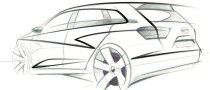 Seat Ibiza ST Concept First Sketch