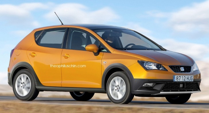 seat ibiza suv could battle opel mokka and renault captur in 2017 autoevolution. Black Bedroom Furniture Sets. Home Design Ideas