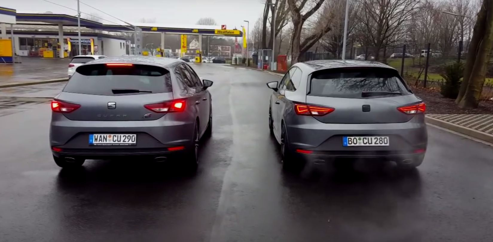 seat leon cupra 290 vs 280 exhaust sound comparison. Black Bedroom Furniture Sets. Home Design Ideas
