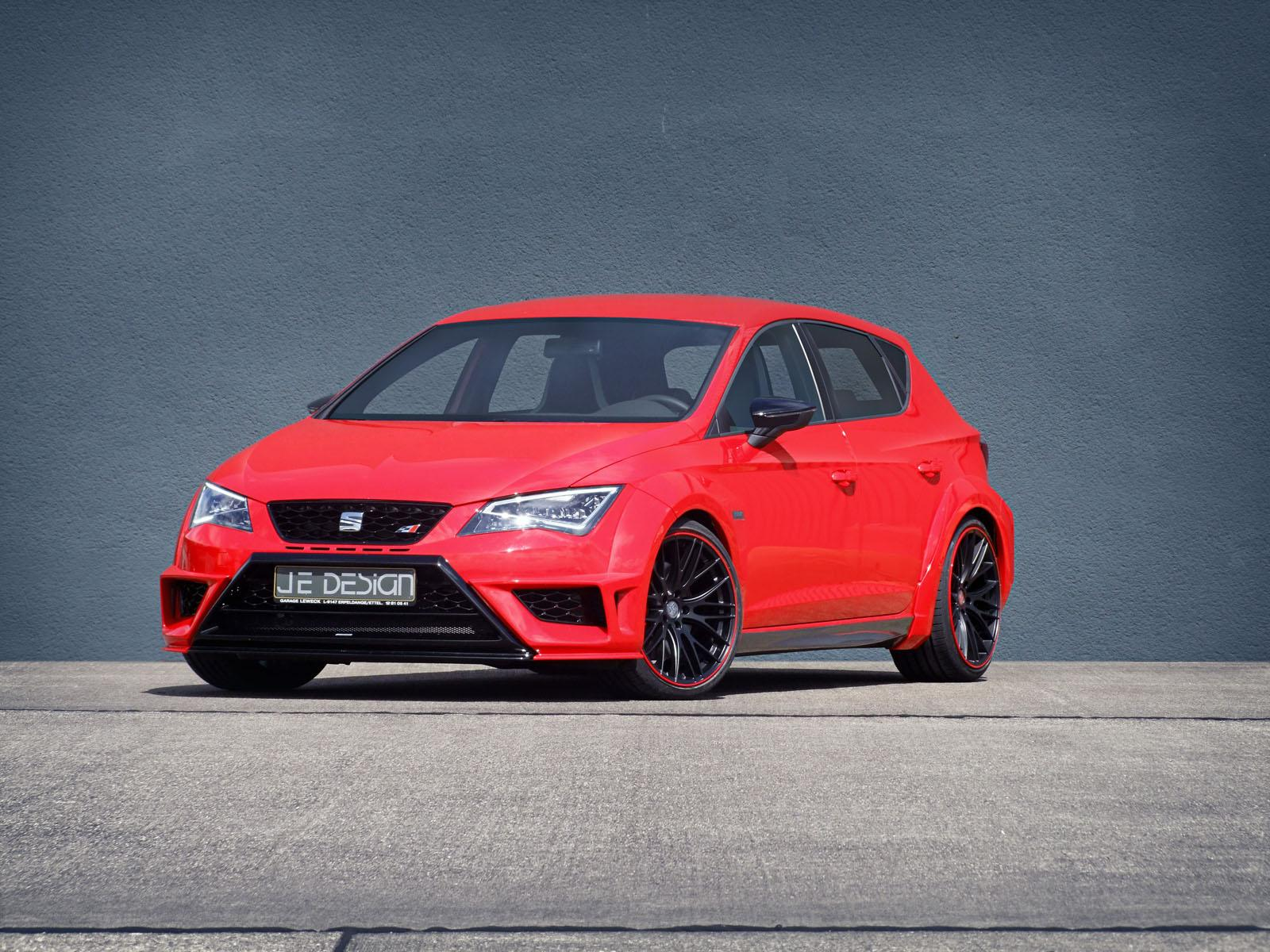 seat leon cupra gets widebody kit from je design autoevolution. Black Bedroom Furniture Sets. Home Design Ideas