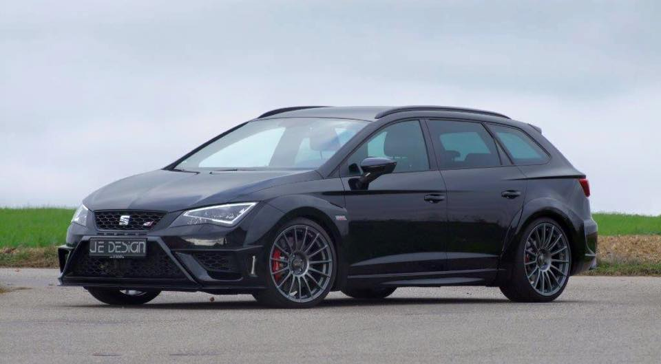 seat leon cupra st gets wide body kit from je design autoevolution. Black Bedroom Furniture Sets. Home Design Ideas
