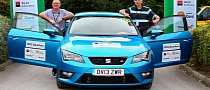 SEAT Leon SC 2.0 TDI Achieves 66.38 MPG in UK Economy Marathon