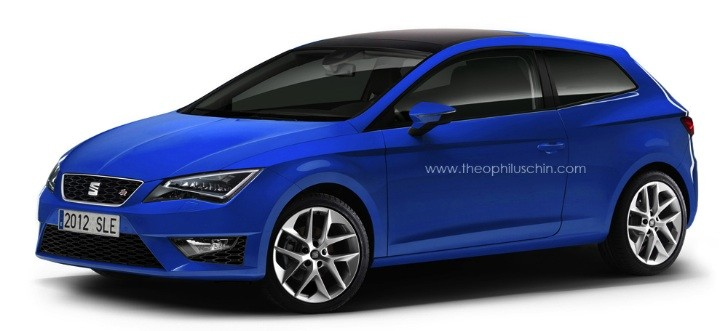 SEAT Leon SportCoupe Rendered