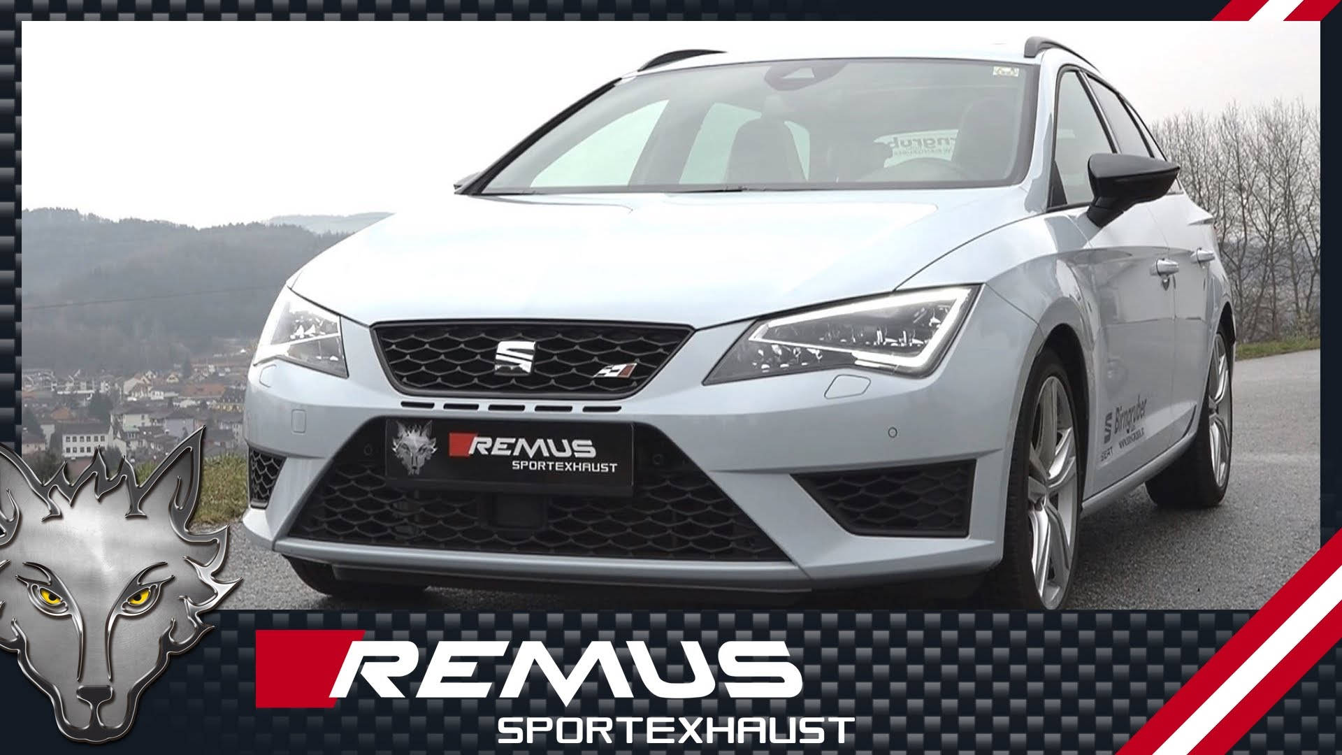 seat leon st cupra gets remus cat back exhaust system. Black Bedroom Furniture Sets. Home Design Ideas