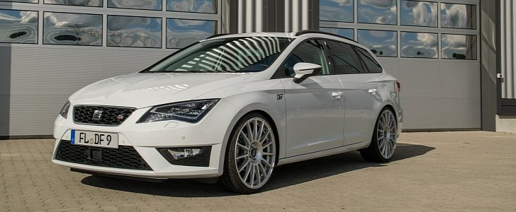 seat leon st fr with 210 hp is a hot wagon you can afford autoevolution. Black Bedroom Furniture Sets. Home Design Ideas