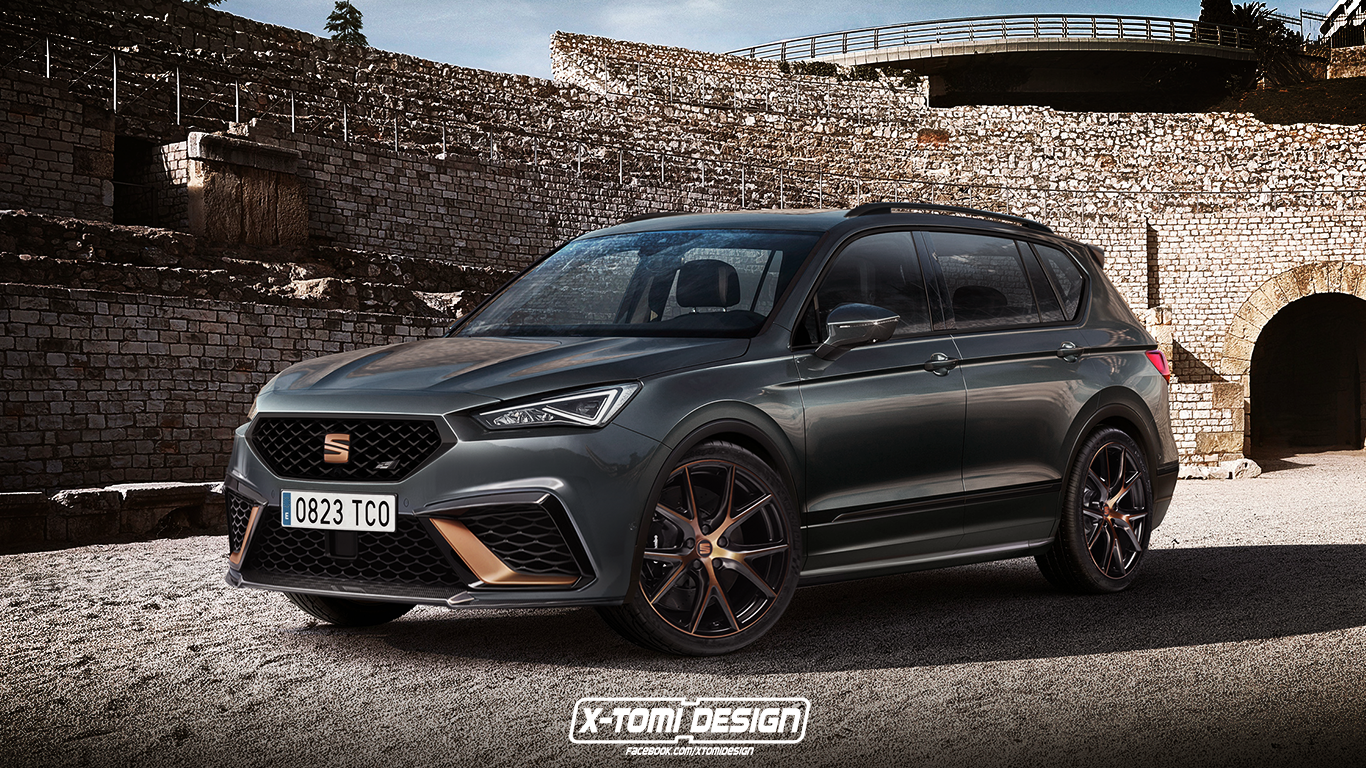 seat tarraco cupra r is the spanish suv we wanted to see autoevolution. Black Bedroom Furniture Sets. Home Design Ideas
